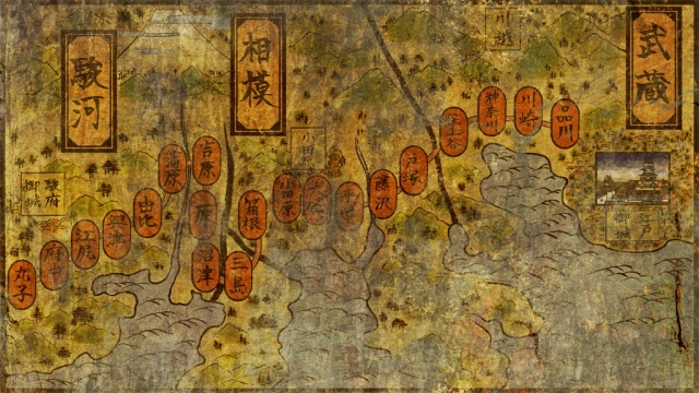 tokaido-map